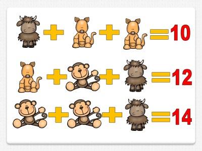 rozonamiento-logico-valor-de-cada-imagen-animales-006