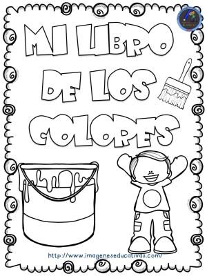 Mi libro de los colores para colorear (1) - Imagenes Educativas