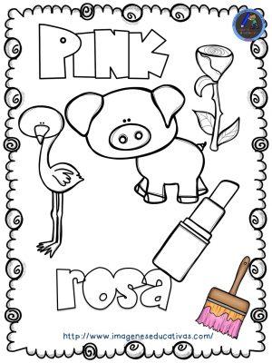 Mi libro de los colores para colorear - Imagenes Educativas