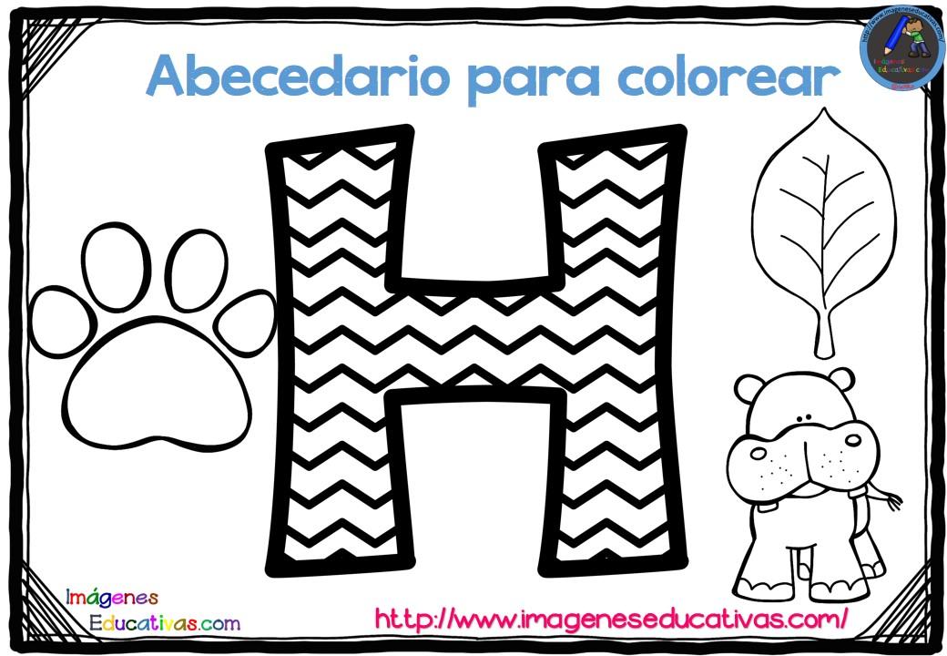 Imagenes Educativas Para Descargar: Abecedario Para Colorear Listo Para Descargar E Imprimir