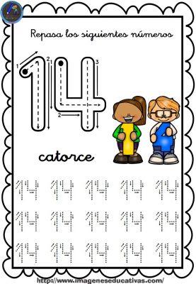 Completo Cuaderno Para Repasar El Trazo Números Del 1 Al 30