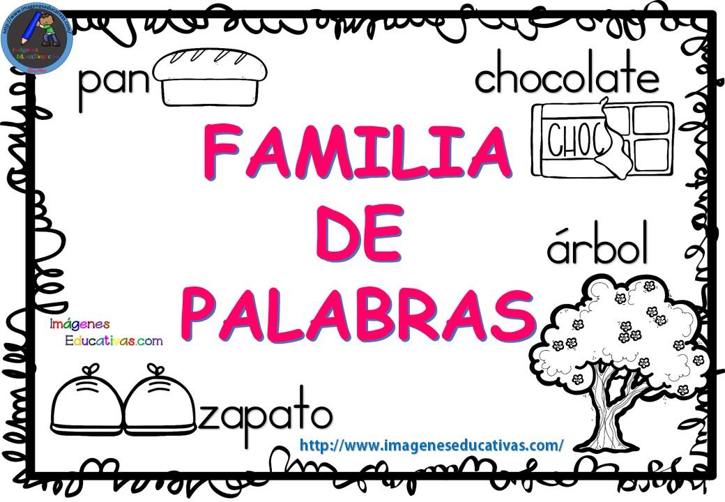 FAMILIA DE LAS PALABRAS (1)
