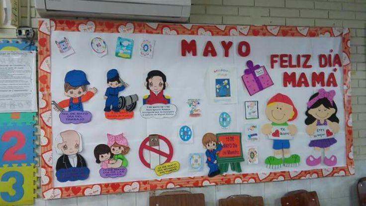 Periodico Mural Mayo Mes De Las Madres 35 Imagenes Educativas