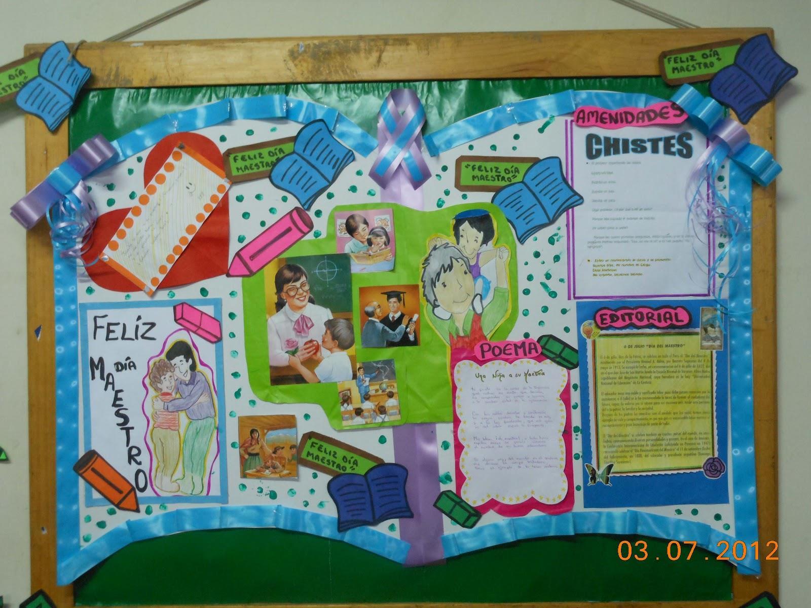 Peri dico mural mayo mes de las madres 4 imagenes for Editorial periodico mural