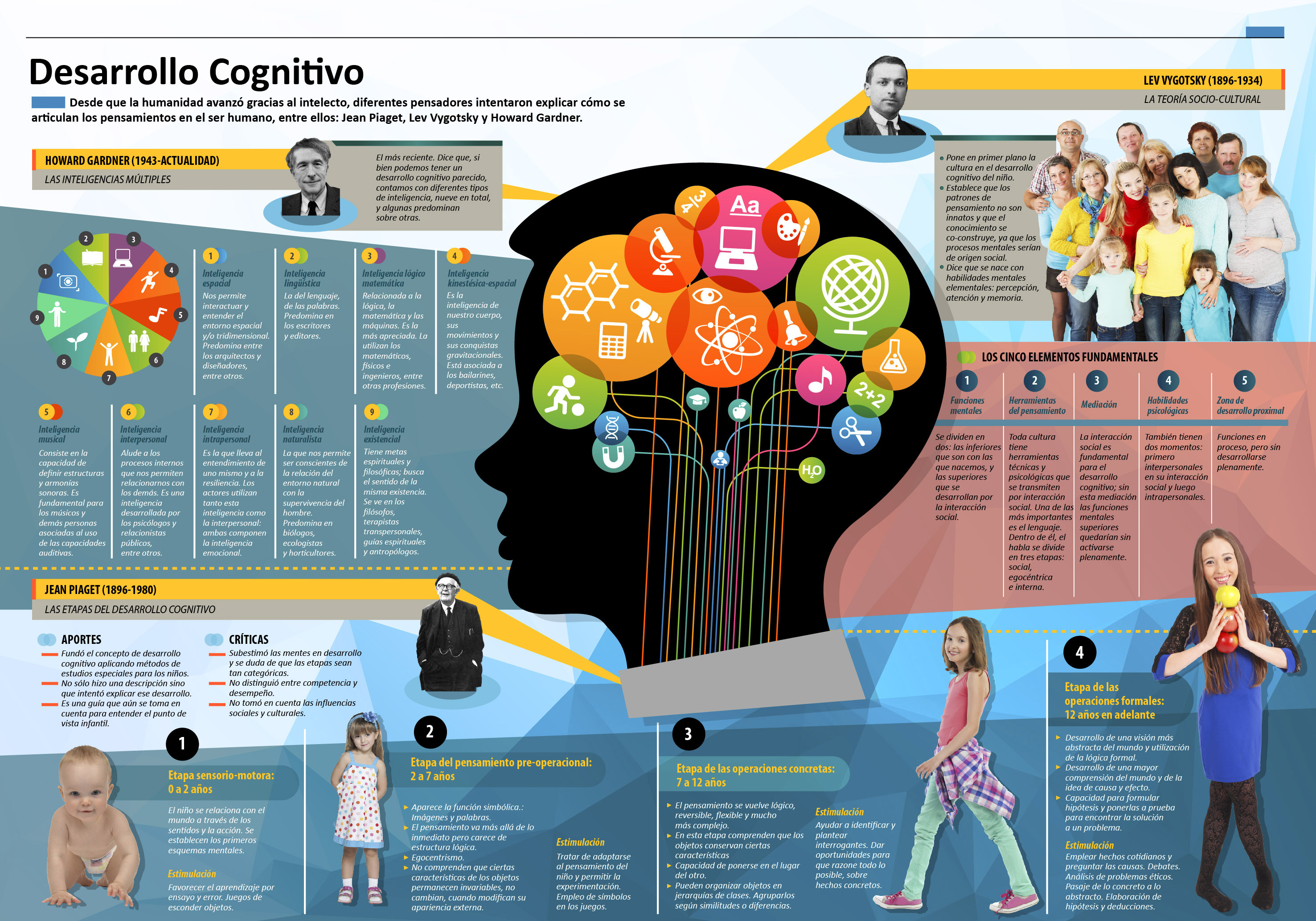 Infografía Desarrollo Cognitivo Imagenes Educativas