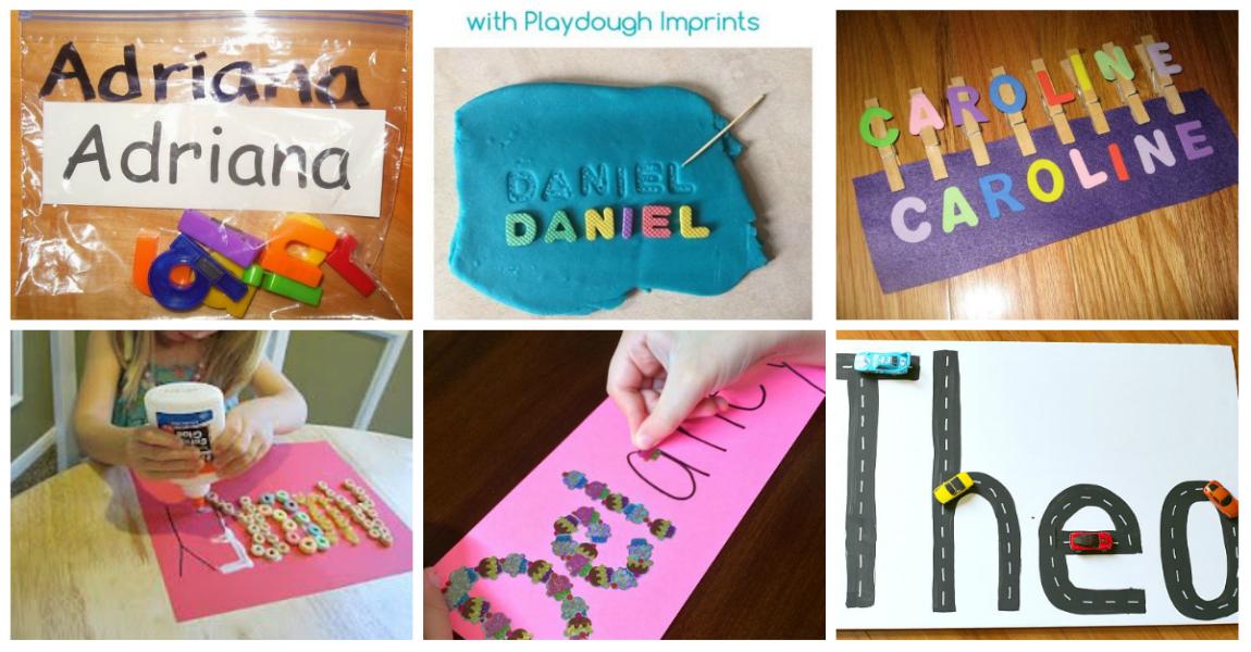 Actividades Divertidas Para Aprender A Escribir Su Nombre Imagenes