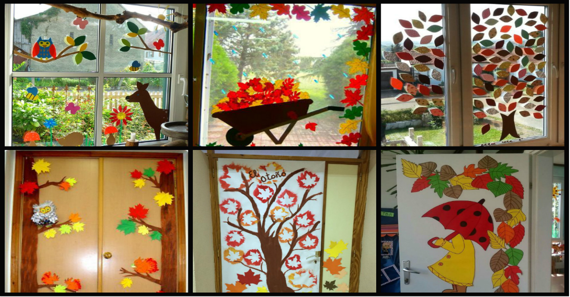 Decoraci n de oto o puertas y ventanas imagenes educativas for Decoracion puerta aula infantil