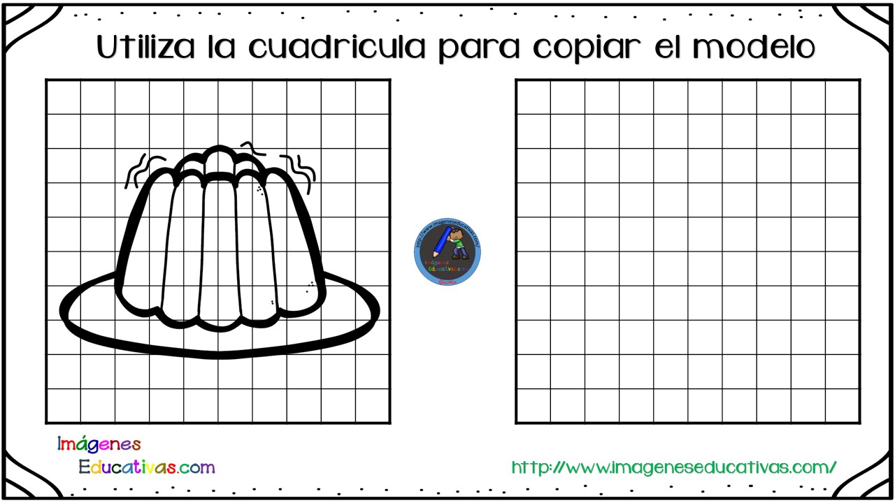 Dibujar cuadricula (21) - Imagenes Educativas