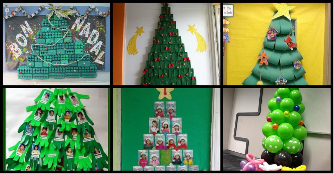 101 ideas para hacer y decorar el rbol de navidad de tu - Decorar un salon grande ...