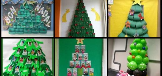 Arboles Para Decorar Aulas.Arboles Navidad Archivos Imagenes Educativas