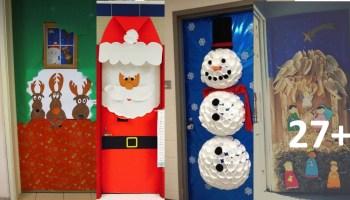 Ideas para decorar puertas finest decorar puerta de for Decorar puertas navidad infantil