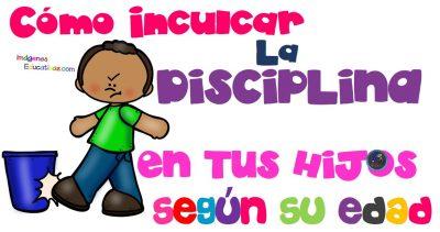 Cómo Inculcar La Disciplina A Tus Hijos Según Su Edad Imagenes