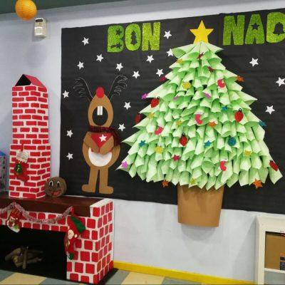 Dibujos De Navidad Para Decorar La Clase.101 Ideas Para Decorar La Puerta De Tu Clase O Salon En