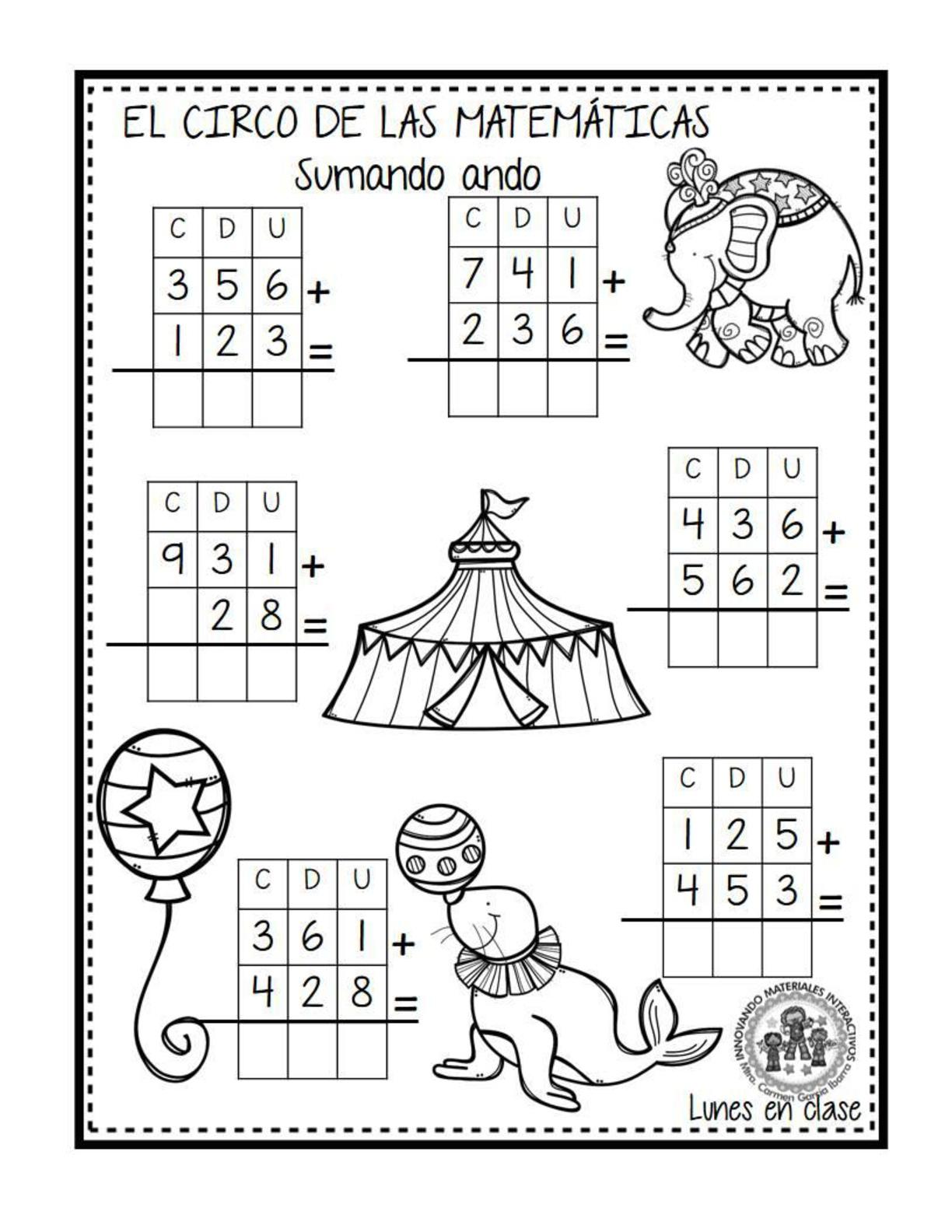 El circo de las matemáticas (5) - Imagenes Educativas