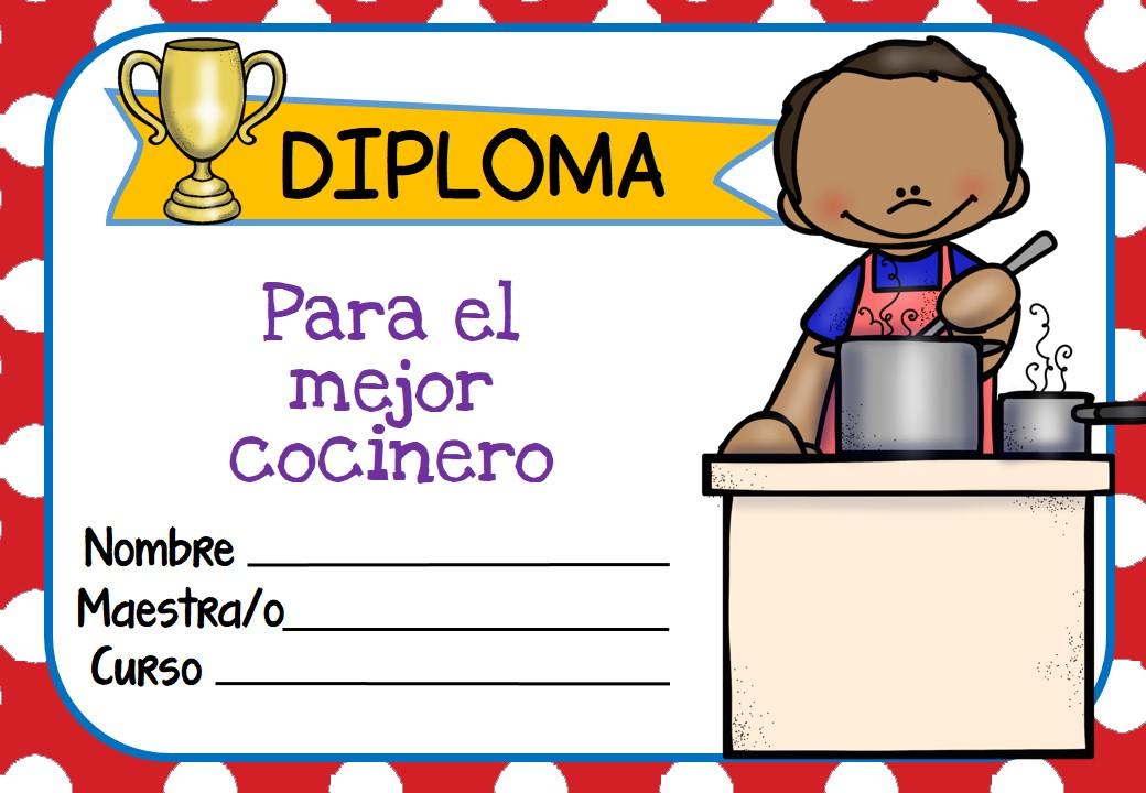 diplomas para premiar las capacidades y los buenos