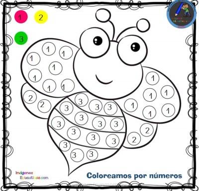 Dibujos Para Colorear Numeros Y Letras Dibujos Para Cortar Y