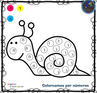 Fichas Para Colorear Por Letras Números Y Símbolos Imagenes
