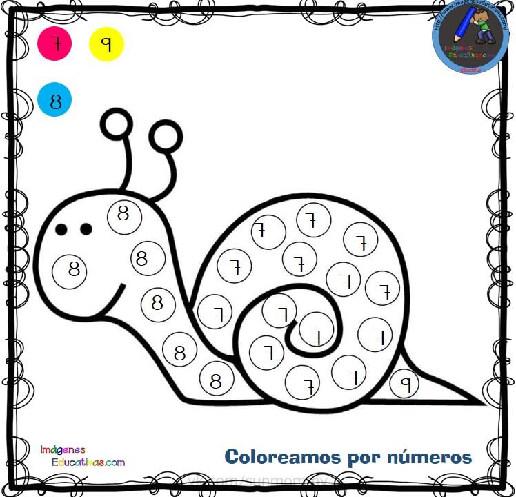 Fichas Para Colorear Por Letras Números Y Símbolos 3 Imagenes