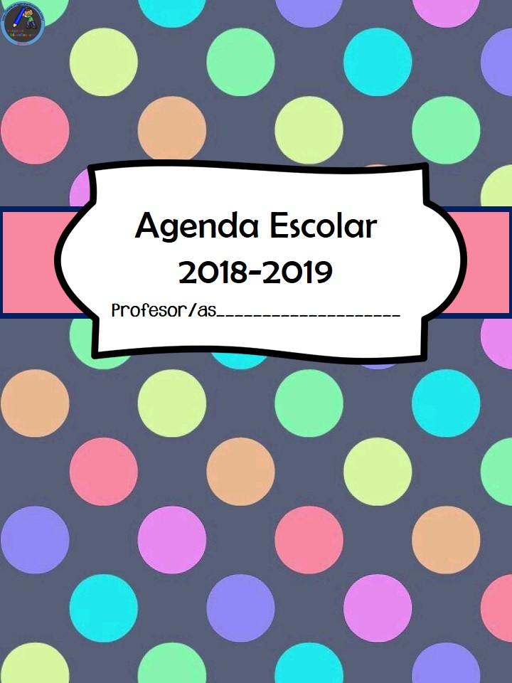Resultado de imagen de imagenes educativas agenda 2018 2019