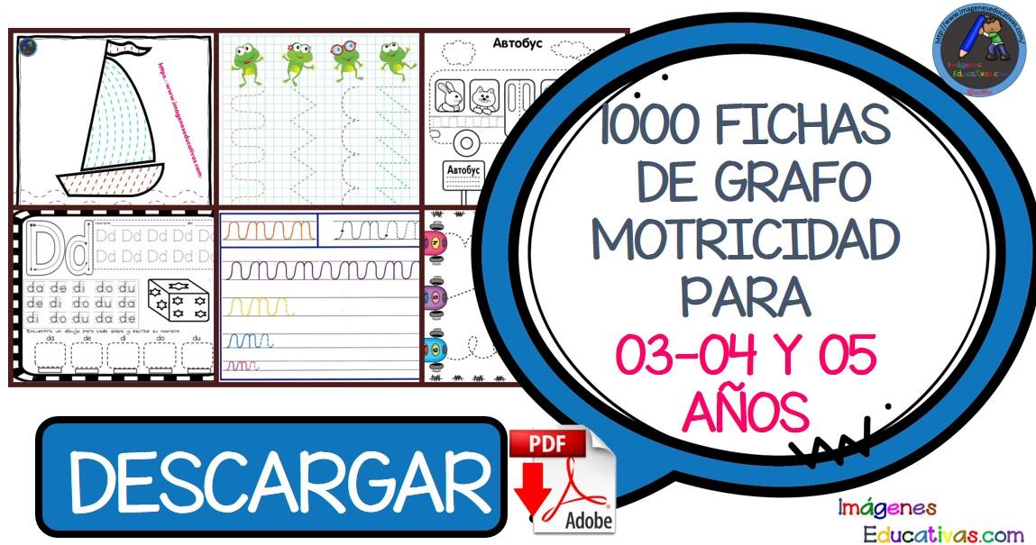 1000 Fichas De Grafomotricidad Para 03 04 Y 05 Anos Imagenes