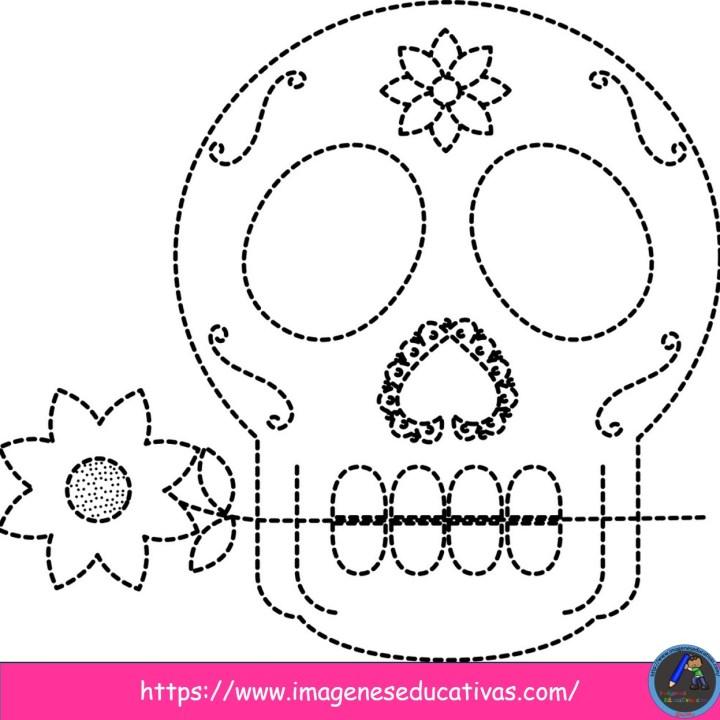25 Mandalas Para Colorear El Dia De Muertos Imagenes Educativas