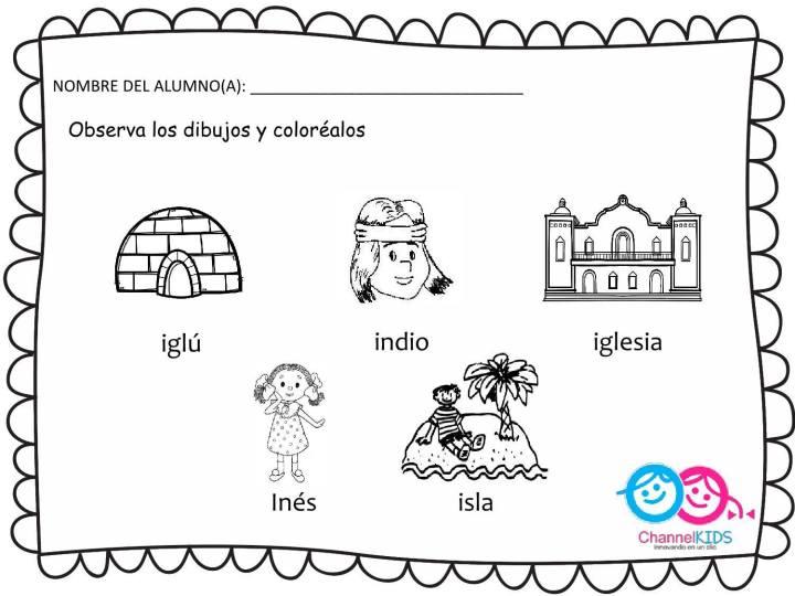 Completo Cuaderno Con Fichas Para Trabajar Las Vocales Descarga El
