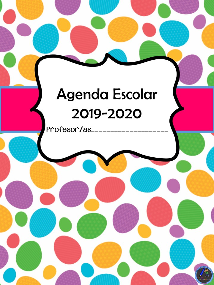 Calendario Agenda 2020 Para Imprimir.Agenda Escolar 2019 2020 Totalmente Original Y Gratuita