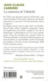 La Controverse De Valladolid Jean Claude Carri 232 Re