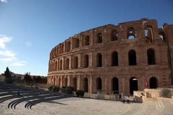 Le colisée romain, El Jem - Tunisie 2012