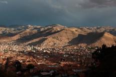 Cusco, vue depuis les hauteurs de San Cristobal, Pérou - 2014