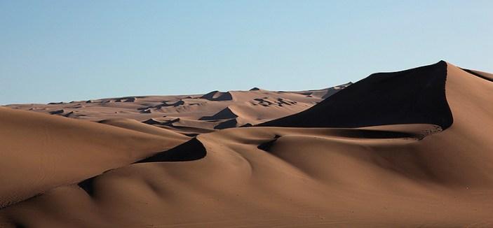 Formes abstraites des dunes, Ica, Pérou - 2014