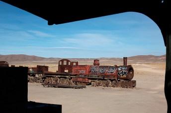"""""""El cementario de tren"""", Uyuni, Bolivie - 2014 - photo 04"""