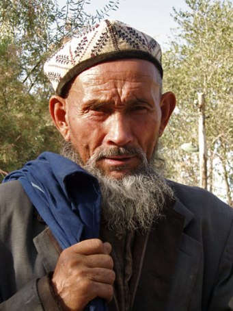 Portrait d'un homme Ouighour - Yarkand, Xinjiang, Chine, 2005