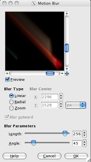 Motion Blur - Linear