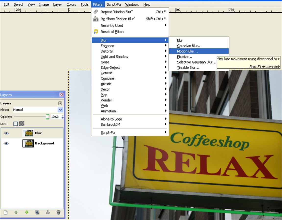 how to delete alpha channel in gimp