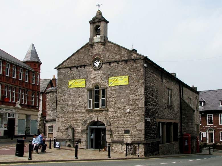 Picture Of Old Market Hall Denbigh