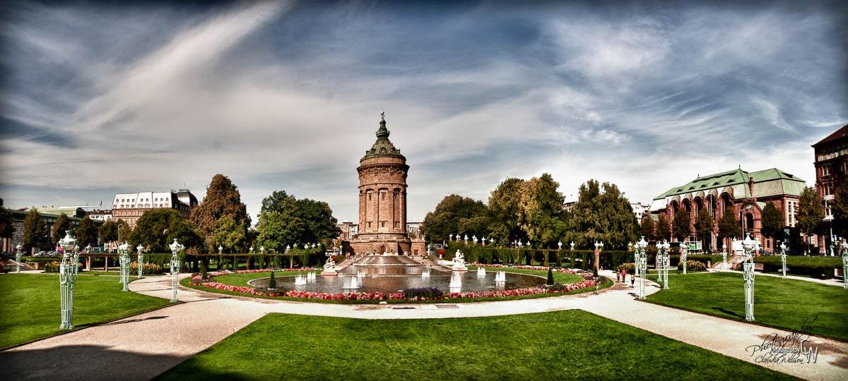 Mannheim, Wasserturm, water tower