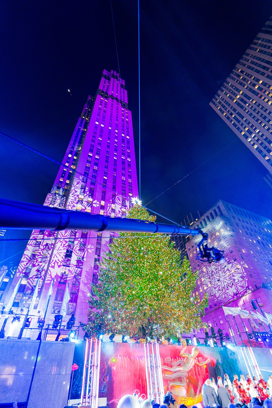 Rockefeller Tree Lighting 2013