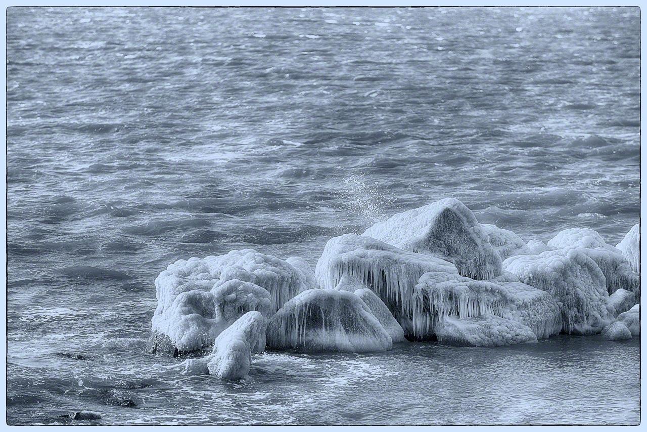 sandy hook, nj, winter, ice