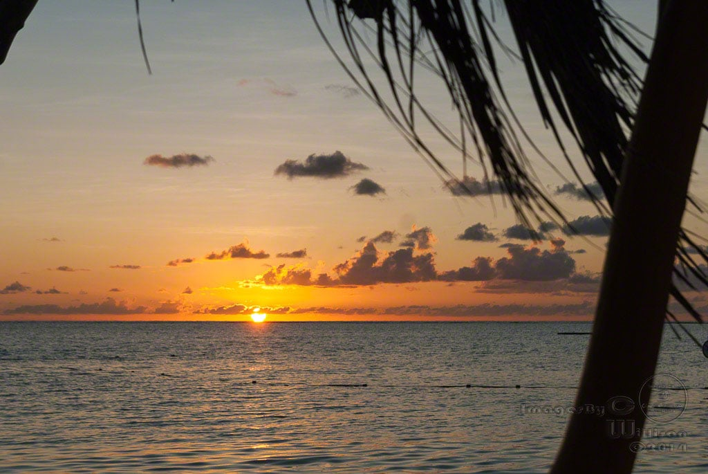 sunrise, lac bay, bonaire, ocean