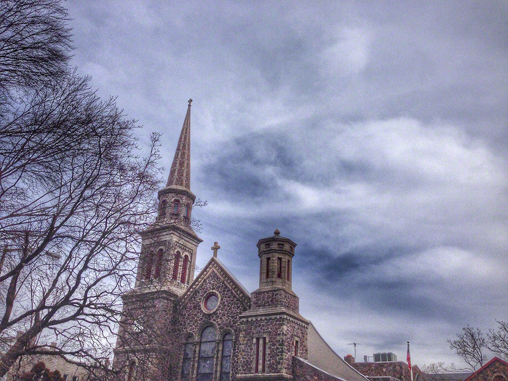 church, morristown, iphone