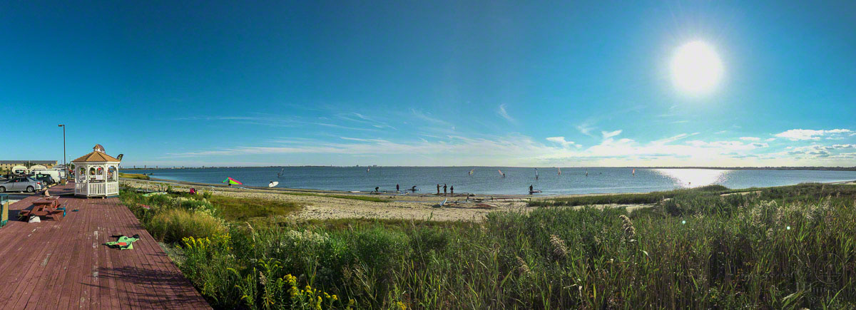 lakes bay, windsurfing, atlantic city, new jersey, ABK