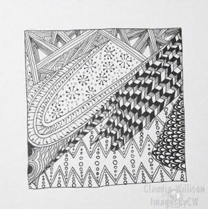 zentangle, zendoodle, drawing, illustration