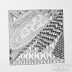 zentangle, zendoodle, drawing, illustration