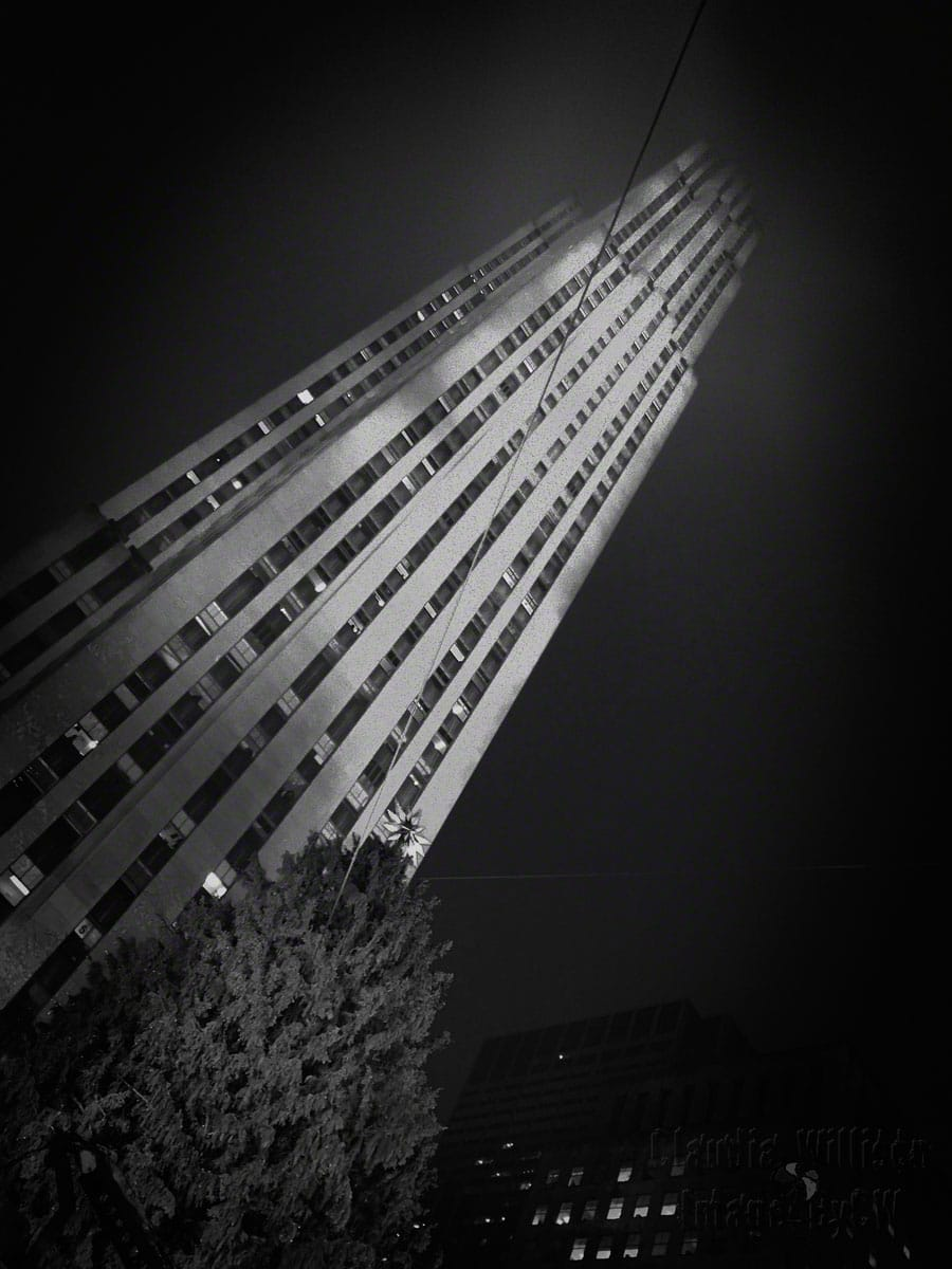 Rockefeller 2015, black and white
