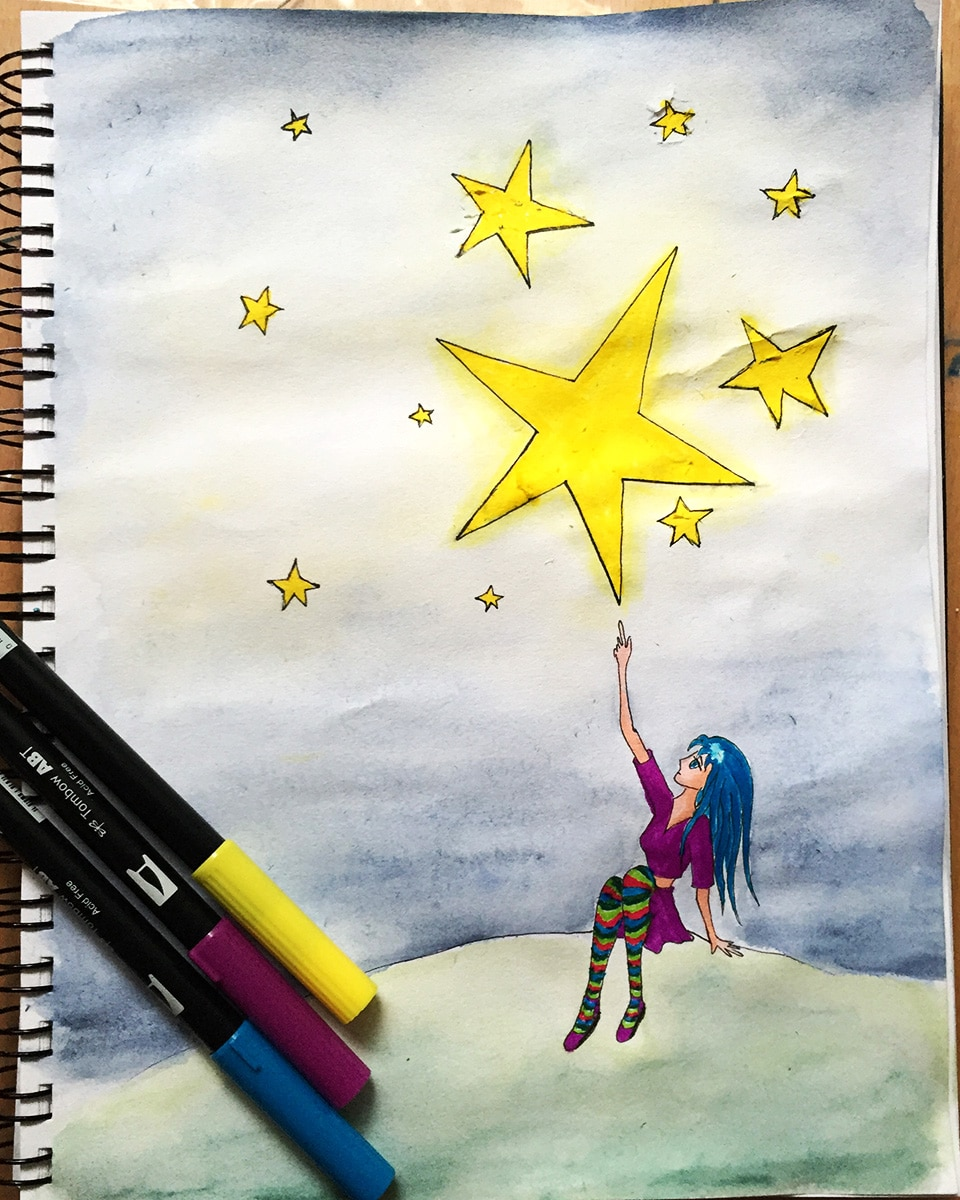 ayako, drawing