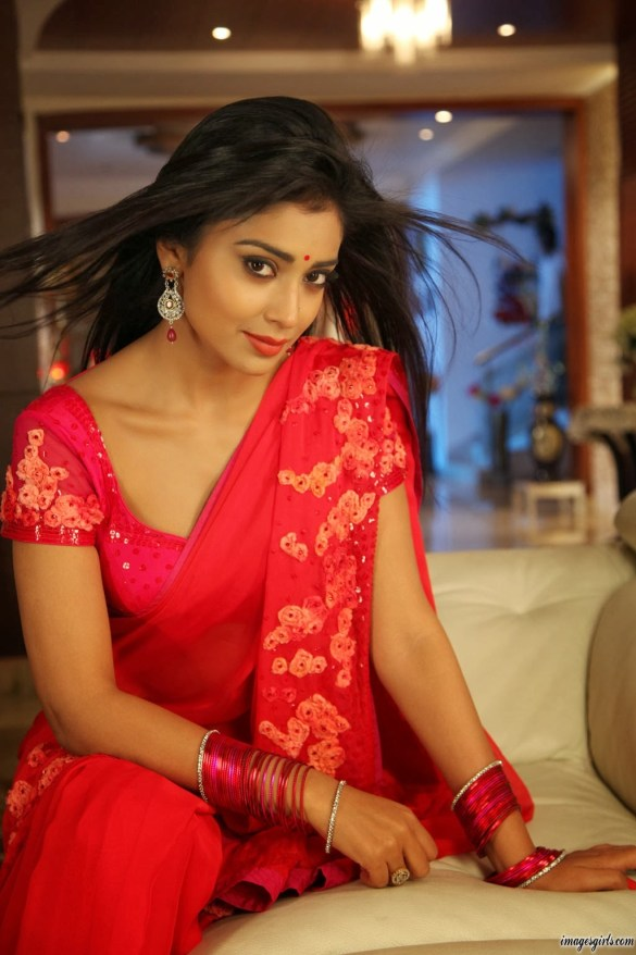 Shriya-Saran-hot-saree