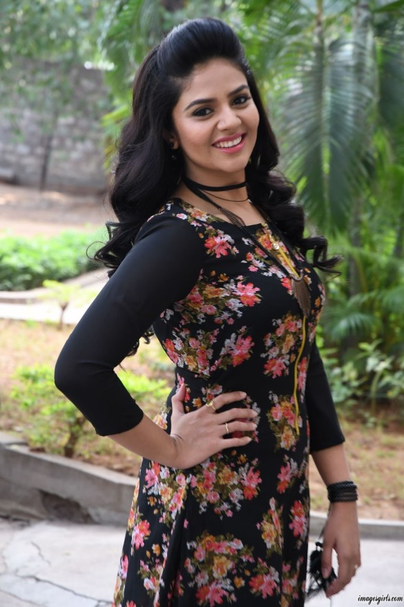 sreemukhi at nenu nanna naa boyfriends teaser launch84578