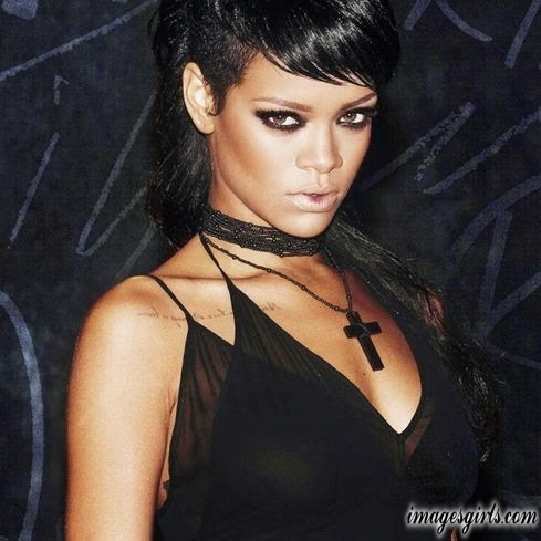 rihanna eye color makeups pics and images