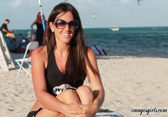 Claudia Romani Swimsuit on South Beach